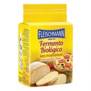 FERMENTO BIOLÓGICO PARA PÃO E PIZZA 125G FLEISCHMANN
