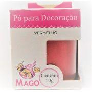 PO P/ DECORACAO VERMELHO 1UN 10G - MAGO