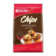 SICAO CHOCOLATE AO LEITE CHIPS 1,01KG