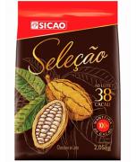 SICAO CHOCOLATE AO LEITE SELECAO 38% 2KG