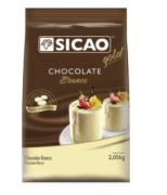 SICAO CHOCOLATE BRANCO GOTAS 2,05KG