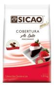SICAO COBERTURA FACIL DERRETIMENTO SABOR CHOCOLATE AO LEITE GOTAS 1,01KG
