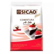 SICAO COBERTURA FACIL DERRETIMENTO  SABOR CHOCOLATE AO LEITE GOTAS 2,05KG