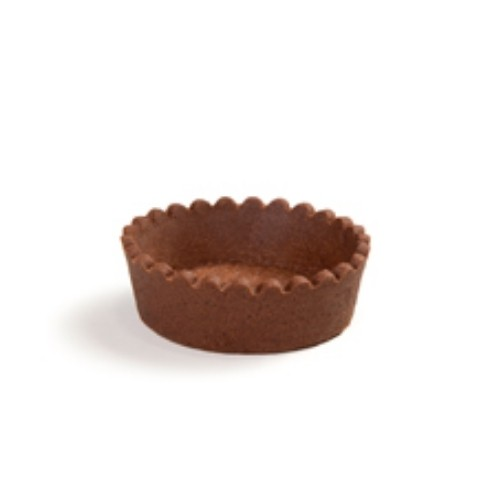 BASE CIRCULAR 7 CM CHOCOLATE 8 UND ART TART