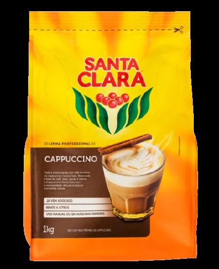 CAFE CAPPUCCINO 1KG SANTA CLARA