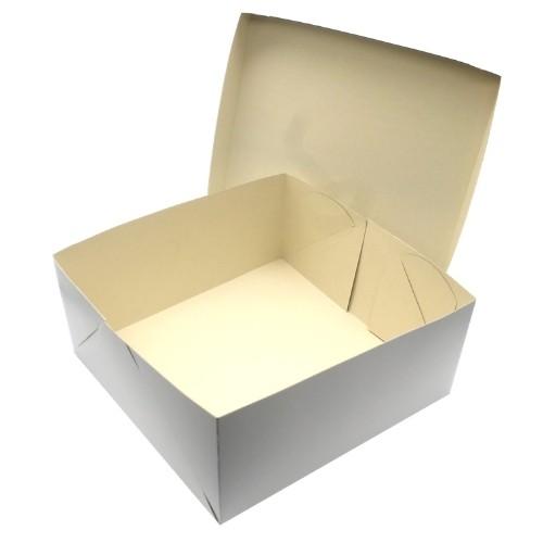 CAIXA PARA TRANSPORTE TORTA 30X13 BRANCO EMPORIO BOX 10 UND
