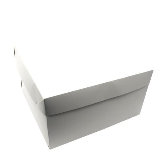 CAIXA PARA TRANSPORTE TORTA 32X32X17 BRANCO EMPORIO BOX 10 UND