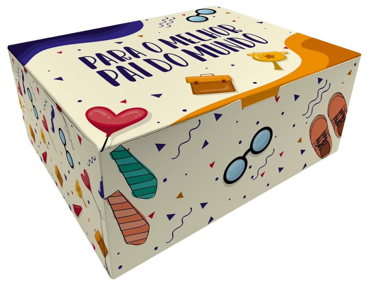 CAIXA SURPRESA PAI 1 EMPORIO BOX 10 UND