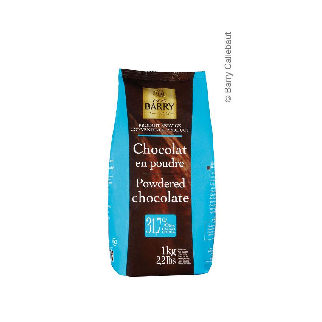 CALLEBAUT CHOCOLATE PO 31,7% EN POUDRE 1KG