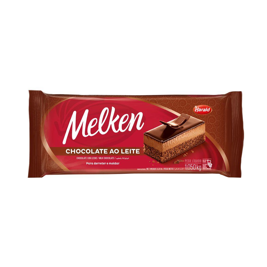CHOCOLATE MELKEN AO LEITE 1,050KG HARALD