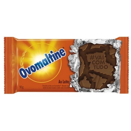 CHOCOLATE AO LEITE COM OVOMALTINE 90G
