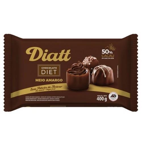 CHOCOLATE DIET MEIO AMARGO 400G