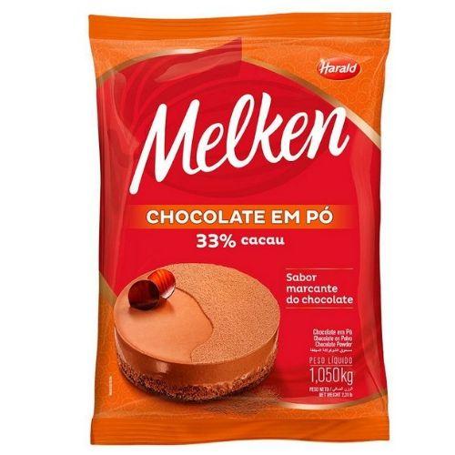 CHOCOLATE EM PO 33% HARALD 1,05KG