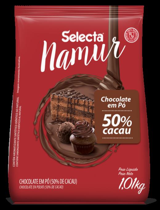 CHOCOLATE EM PO 50% 1,01KG SELECTA
