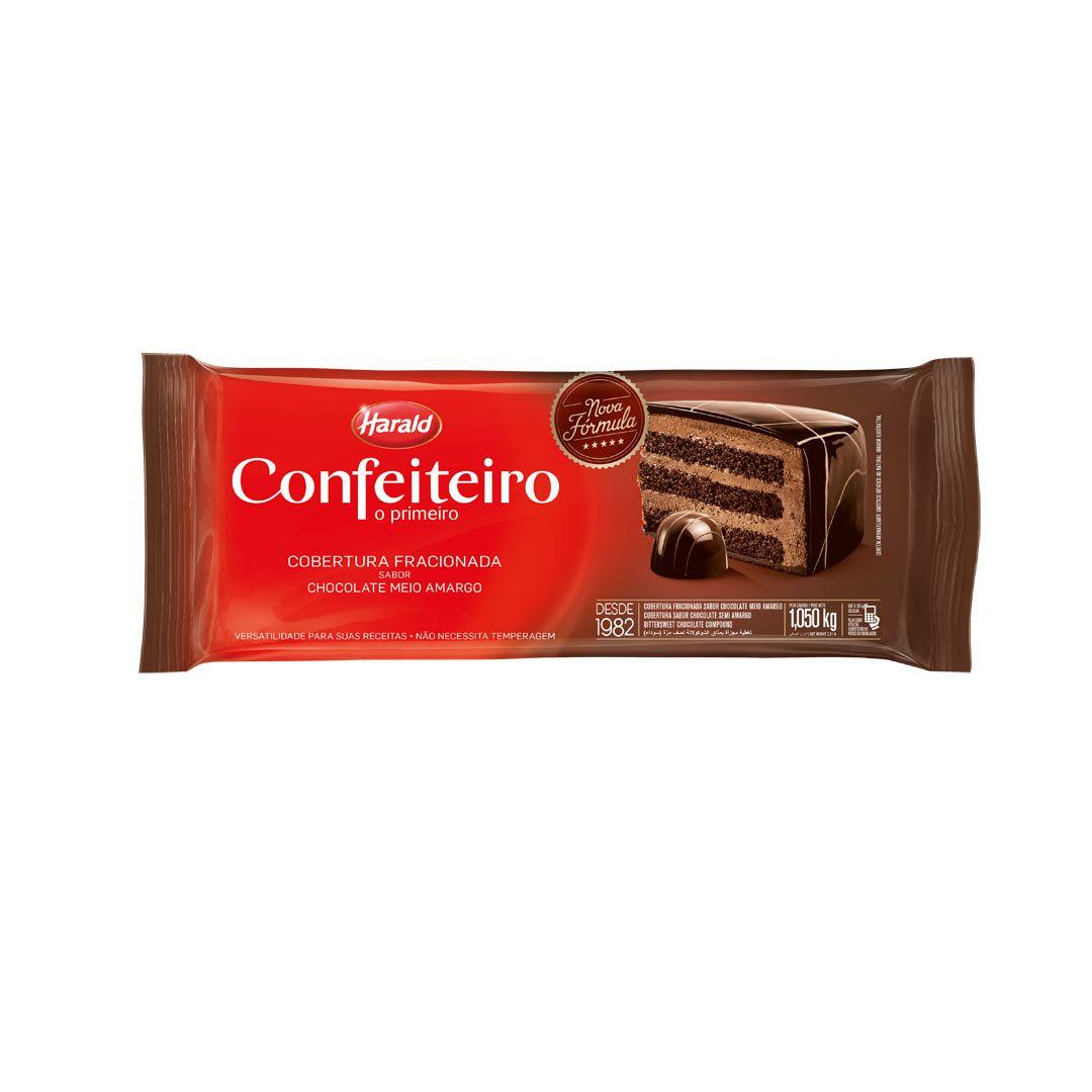 COBERTURA CONFEITEIRO MEIO AMARGO 1,05KG