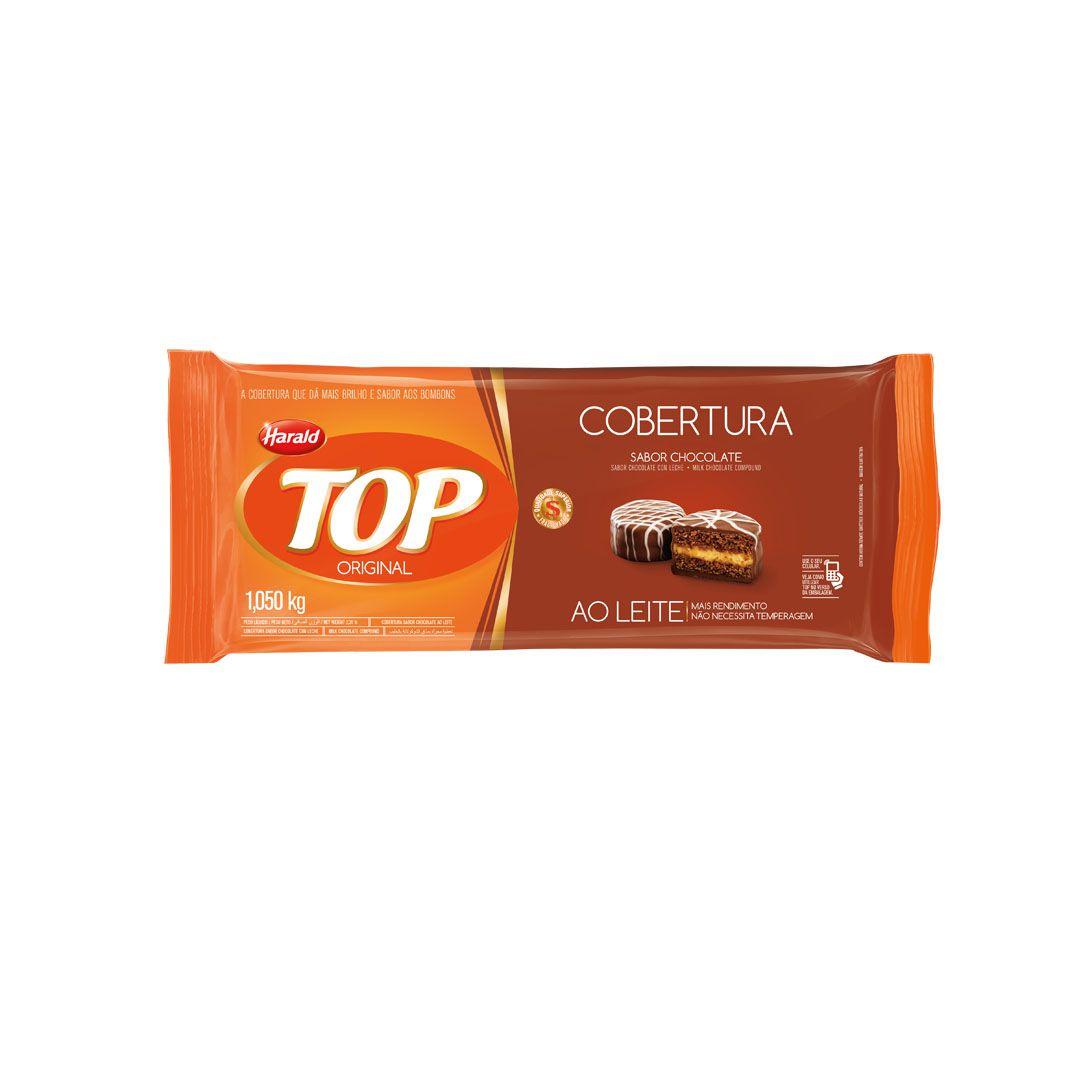 COBERTURA TOP AO LEITE 1,050KG HARALD