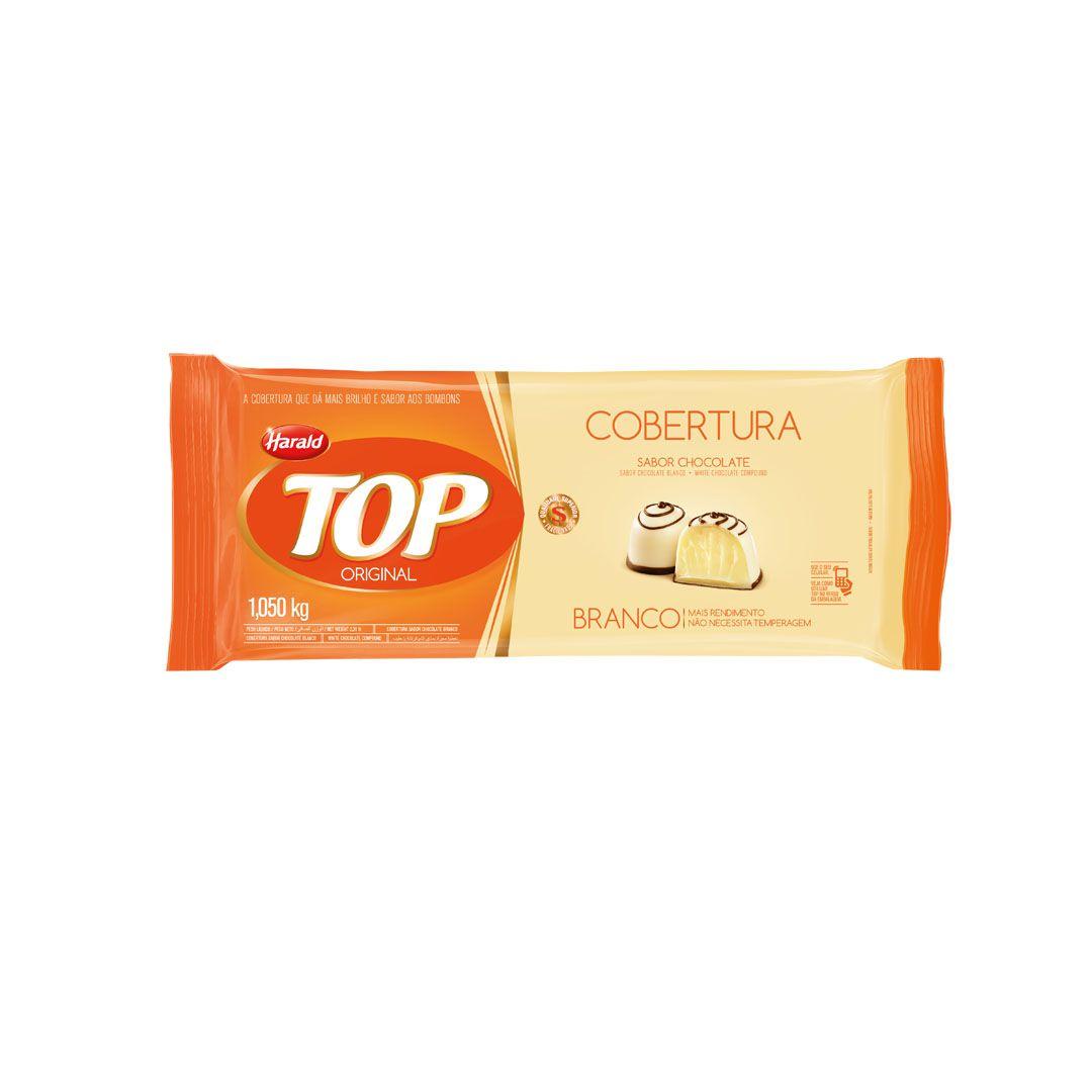 COBERTURA TOP BRANCO 1,050KG HARALD