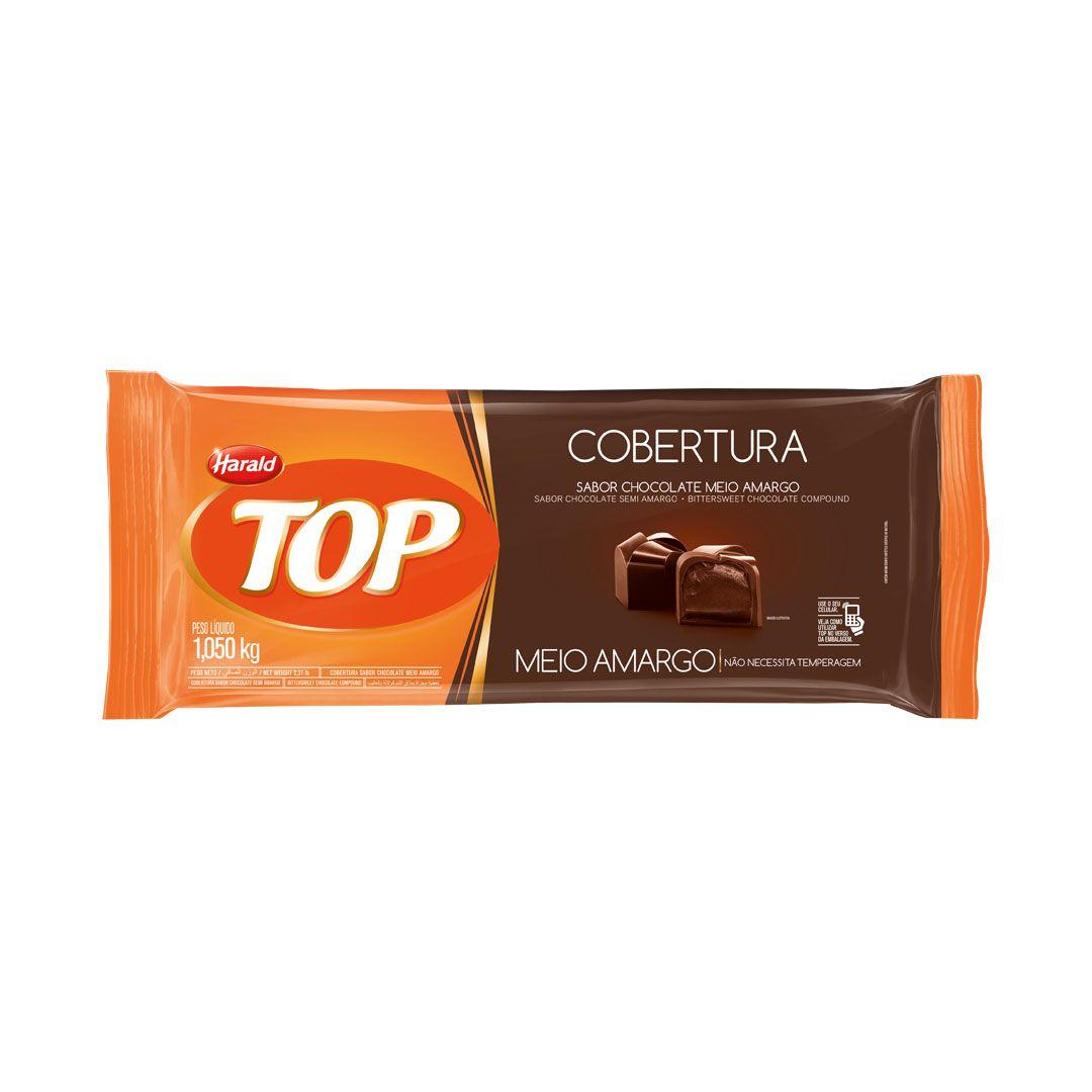 COBERTURA TOP MEIO AMARGO 1,050KG HARALD