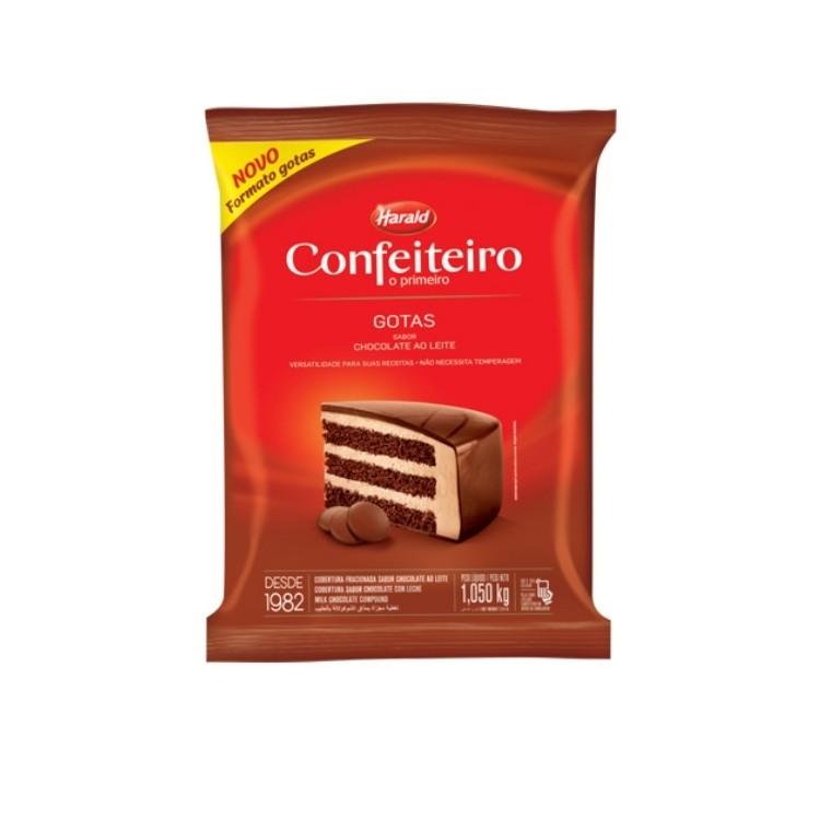 COBERTURA GOTAS AO LEITE CONFEITERIO 1,050KG