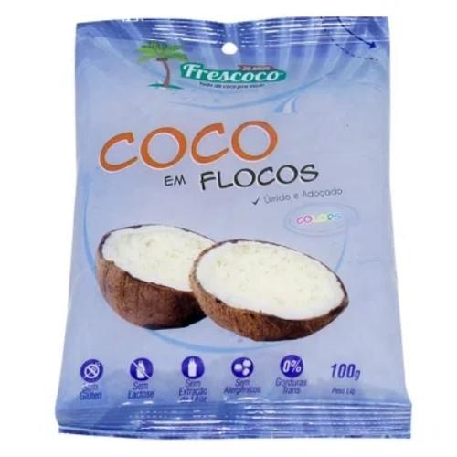 COCO EM FLOCOS 100G FRESCOCO
