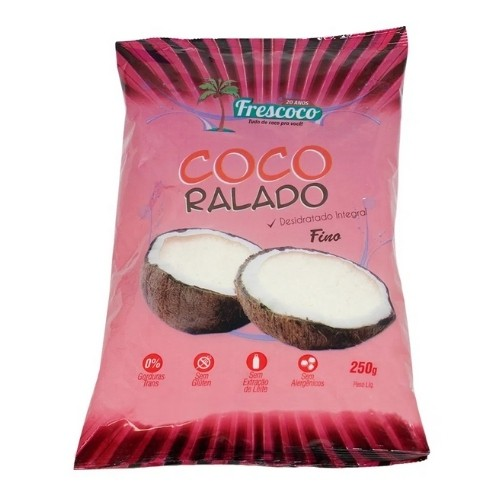 COCO RALADO FINO 250G FRESCOCO