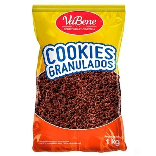 COOKIES GRANULADOS SABOR CHOCOLATE 1KG VABENE