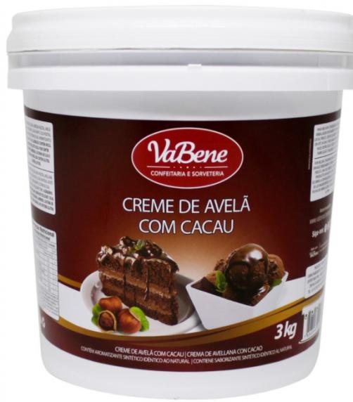 CREME DE AVELÃ COM CACAU