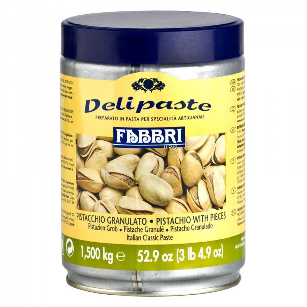 DELIPASTE PISTACCHIO GRANULATO (1,5KG)