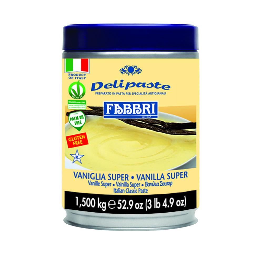 DELIPASTE VANIGLIA SUPER (ITA) (1,5KG)