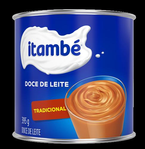 DOCE DE LEITE TRADICIONAL LATA 395G ITAMBE