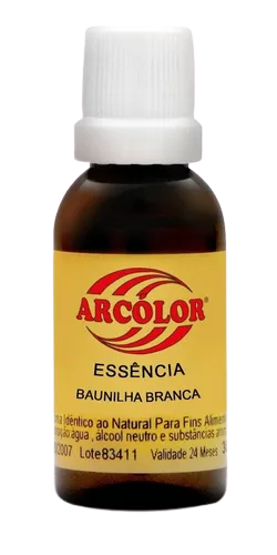 ESSENCIA 30ML BAUNILHA BRANCA