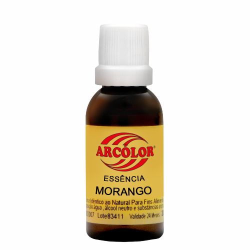 ESSENCIA  30ML MORANGO