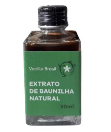 EXTRATO DE BAUNILHA NATURAL 30ML