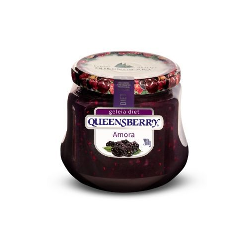 GELEIA QUEENSBERRY DIET AMORA 280G