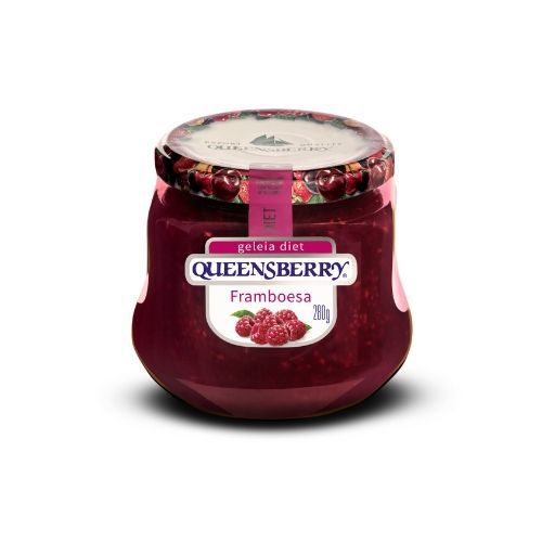 GELEIA QUEENSBERRY DIET FRAMBOESA 280G