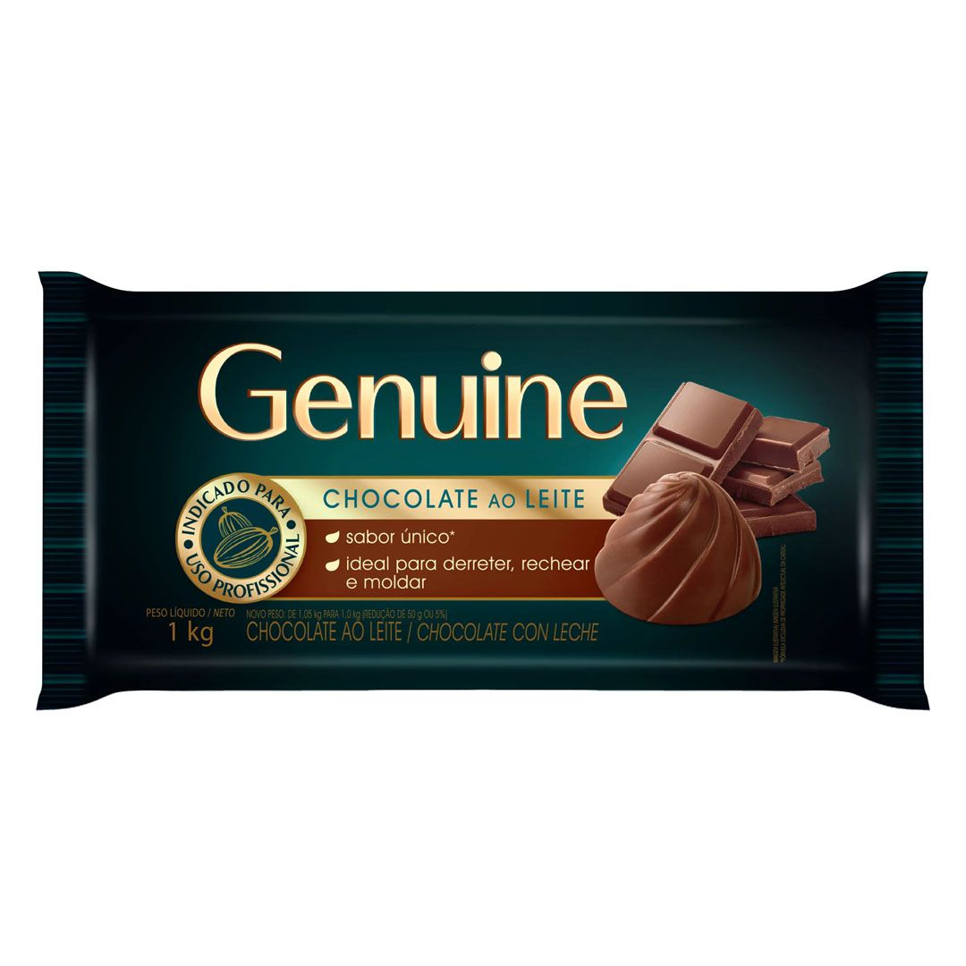 GENUINE CHOCOLATE AO LEITE 1 KG