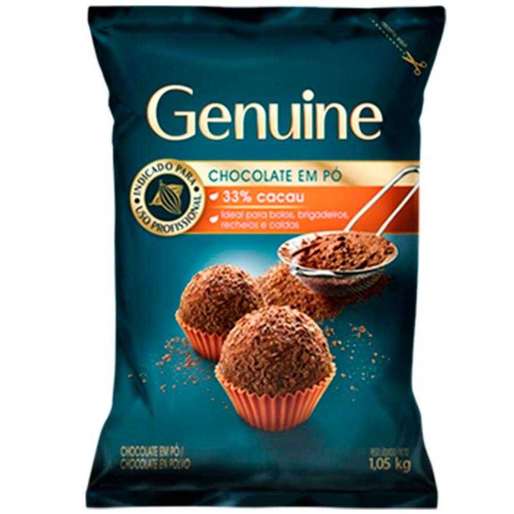 GENUINE CHOC EM PO 33% 1,05KG