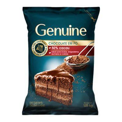 GENUINE CHOCOLATE EM PÓ 50% 1,05KG