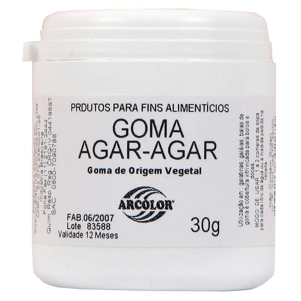 GOMA AGAR-AGAR ARCOLOR - 30G