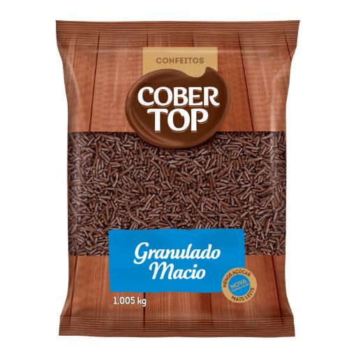 GRANULADO MACIO SABOR CHOCOLATE 1,005KG COBERTOP