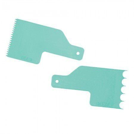 KIT MINI ESPATULA DECORATIVA 2 VERDE TIFFANY