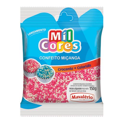MIÇANGA BRANCA E ROSA Nº0 150G MAVALERIO