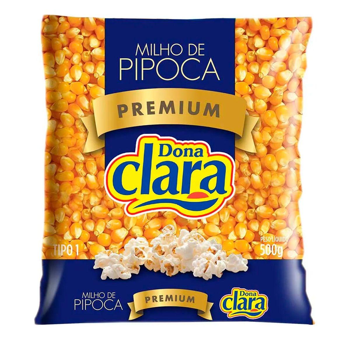 MILHO DE PIPOCA PREMIUM DONA CLARA