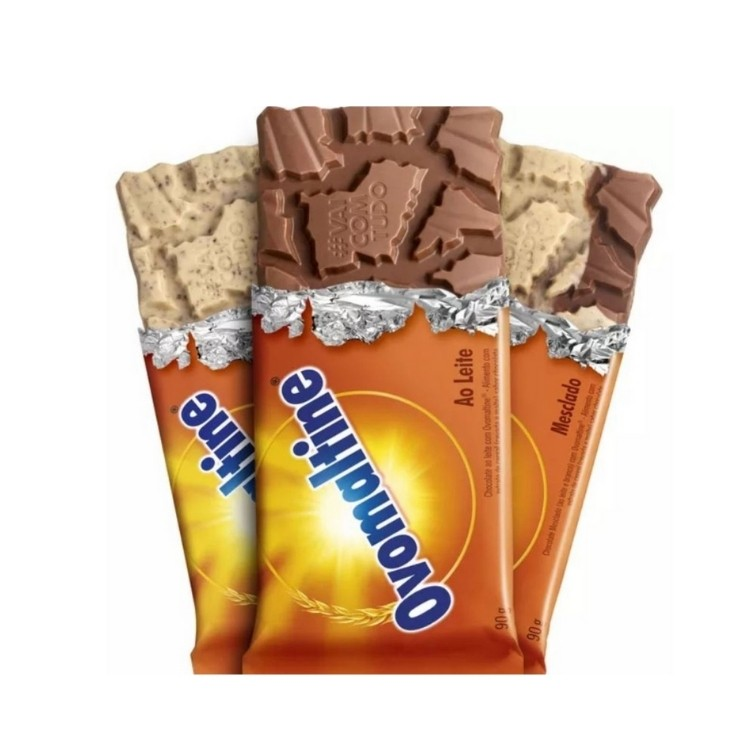 OVOMALTINE BARRA DE CHOCOLATE  90G