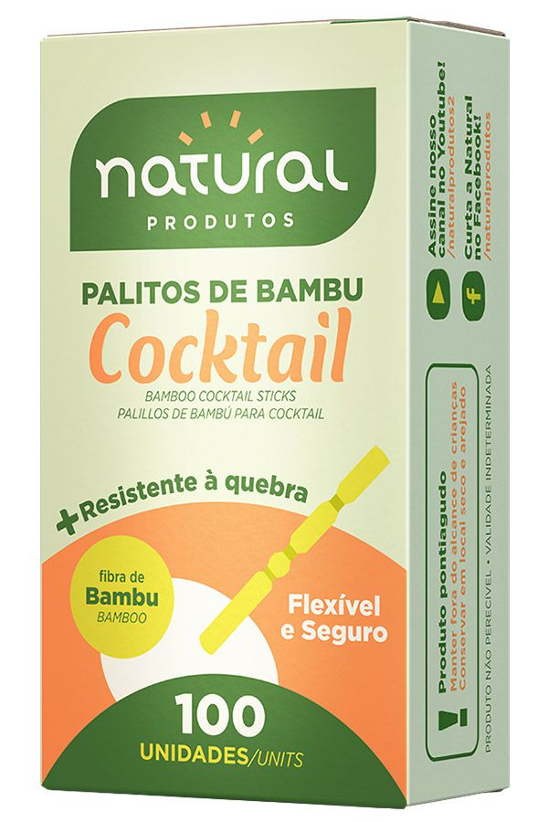PALITO COCKTAIL C/ 100 UN