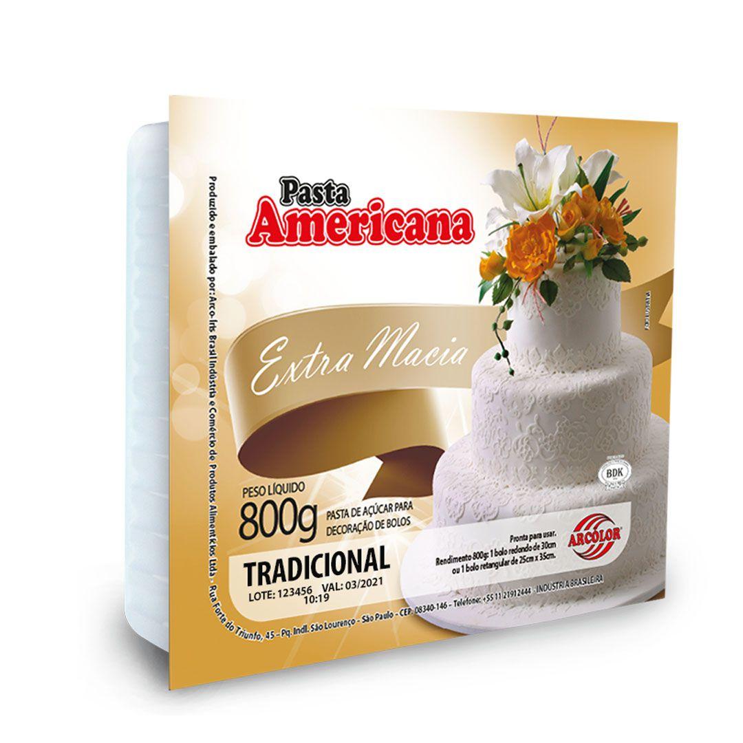 PASTA AMERICANA ARCOLOR 800G