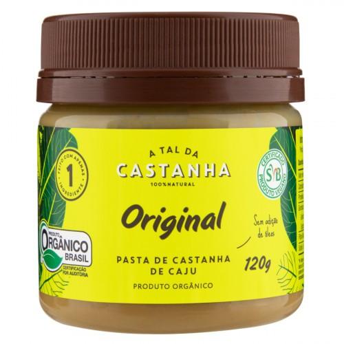 PASTA DE CASTANHA DE CAJU 120G