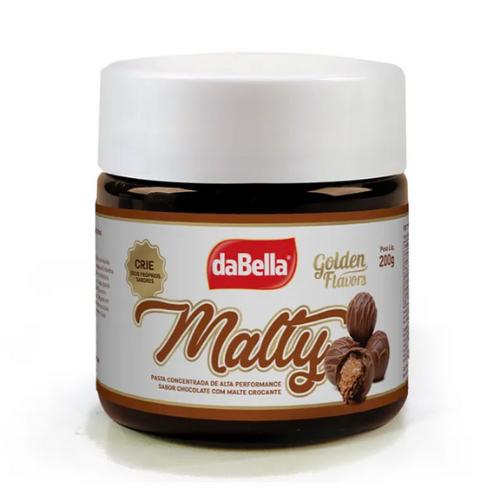 PASTA SABORIZANTE CHOCOLATE COM MALTE CROCANTE 200G DABELLA