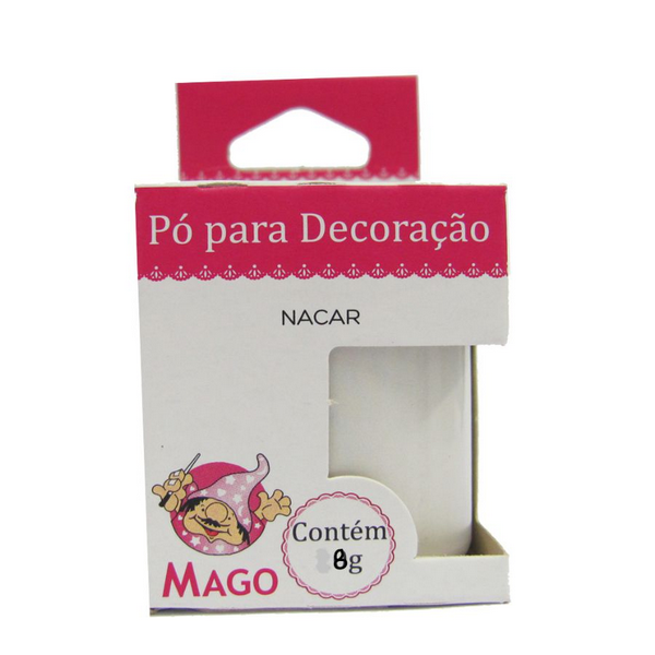 PO P/ DECORACAO NACAR 8G