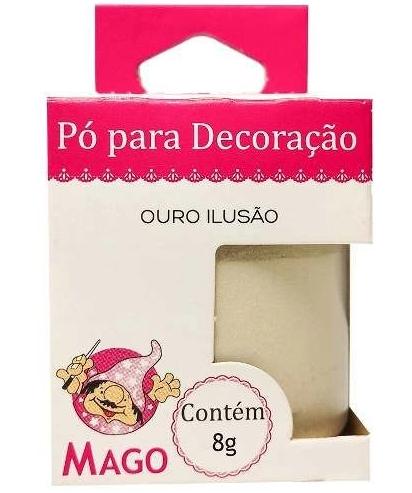PO P/ DECORACAO OURO ILUSAO 8G